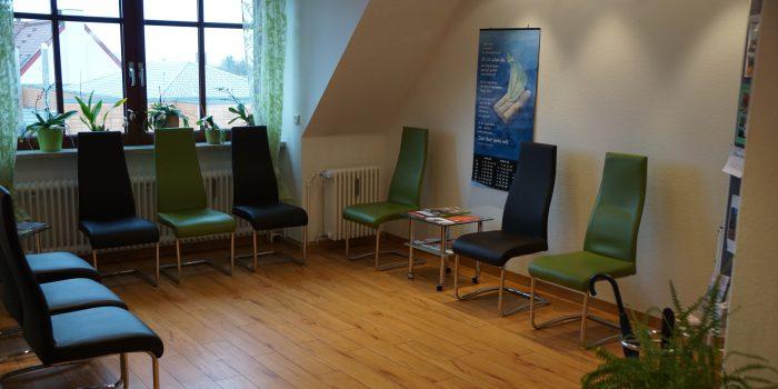 Wartearum Neurochirurigsche Praxis Königsbrunn bei Augsburg